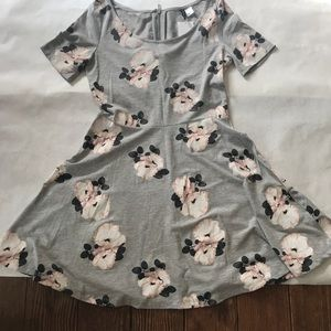 NWT H&M fit and flare dress